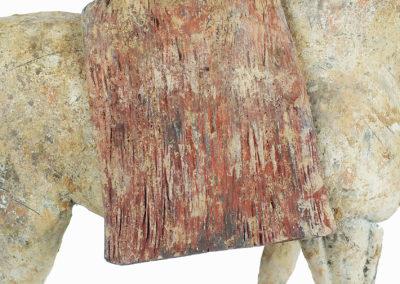 Rare Pottery Striding Horse (15)