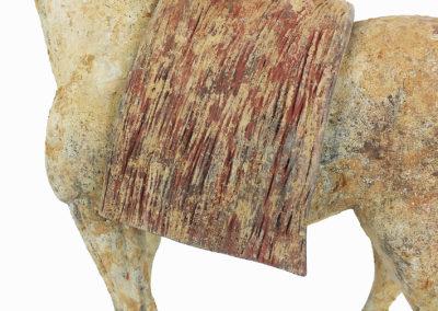 Rare Pottery Striding Horse (2)