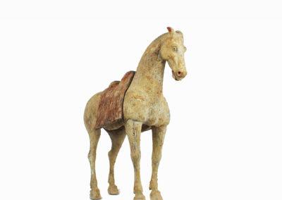 Rare Pottery Striding Horse (20)