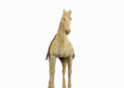 Rare Pottery Striding Horse (21)