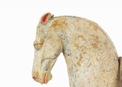 Rare Pottery Striding Horse (24)