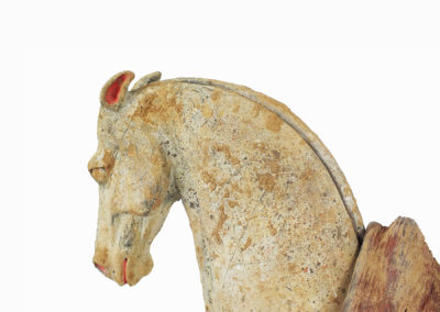 Rare Pottery Striding Horse (26)