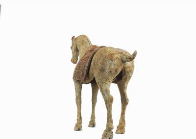 Rare Pottery Striding Horse (9)