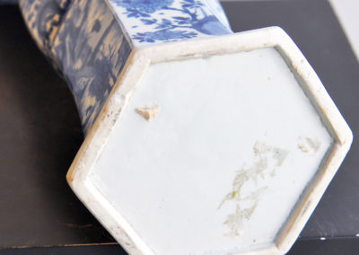 Chinese Kangxi Blue Trumpet Vase (7)