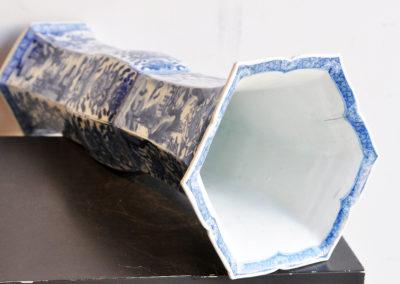 Chinese Kangxi Blue Trumpet Vase (8)