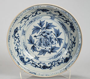 A large Yuan Dynasty Dish