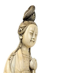 Finely Carved Guanyin