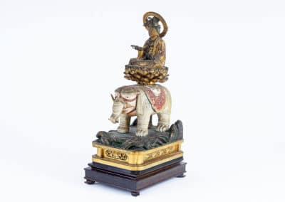 Figure of Bodhisattva Fugen