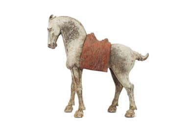 Tang Dynasty Striding Horse