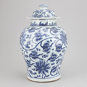 Kangxi Blue White Vase