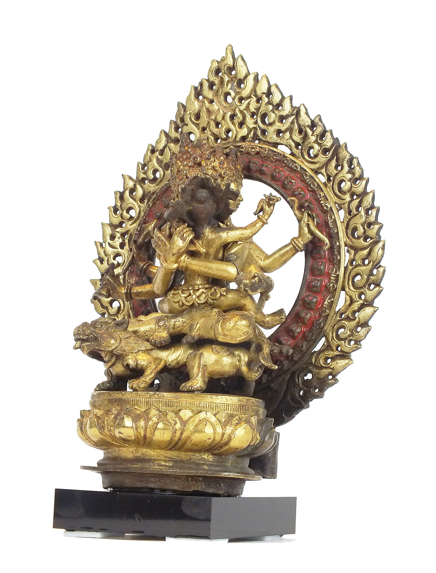 Large Gilt-Bronze Vajrasattva (2)