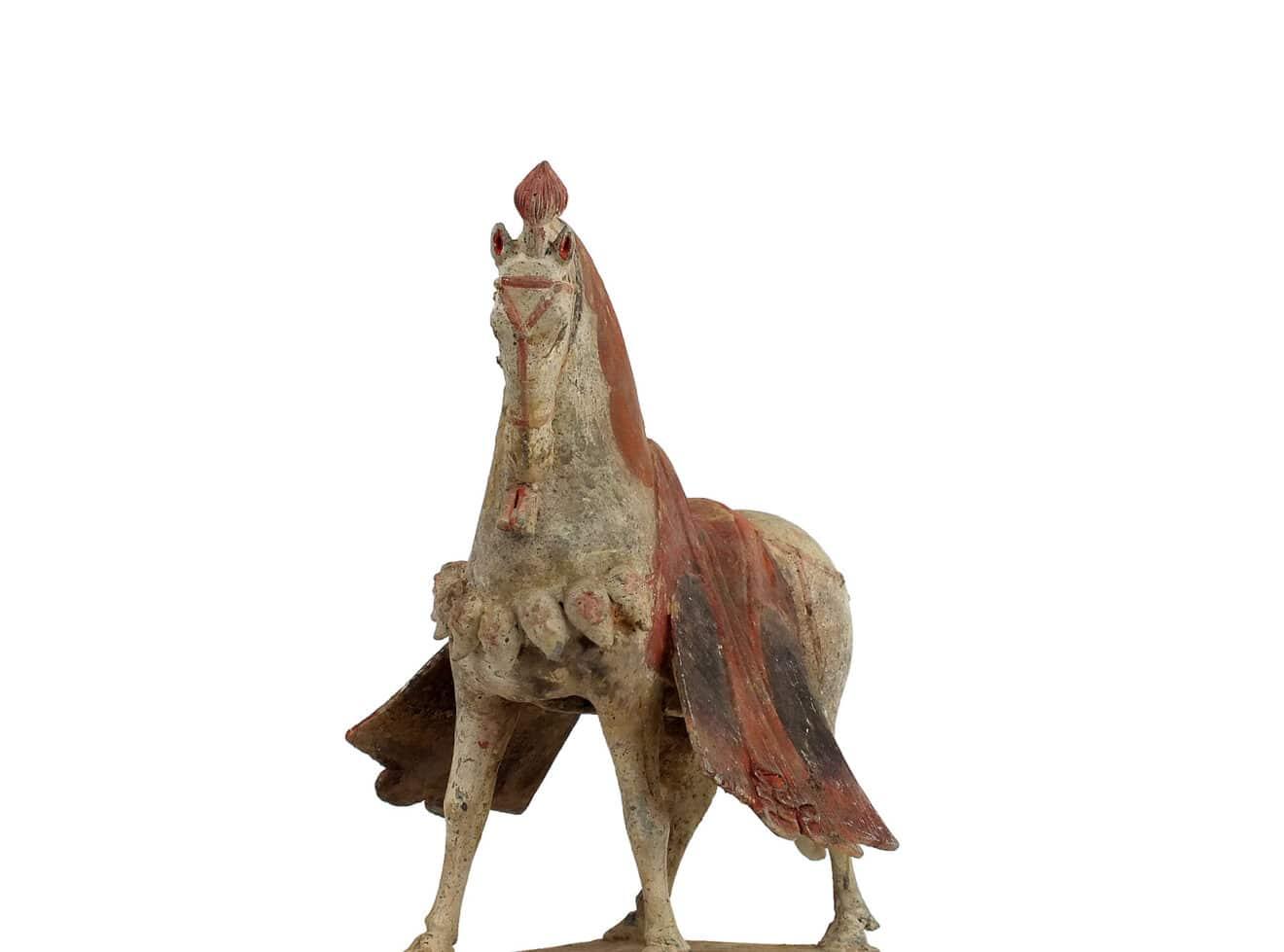 Magnificent Pottery Caparisoned Horse (13)